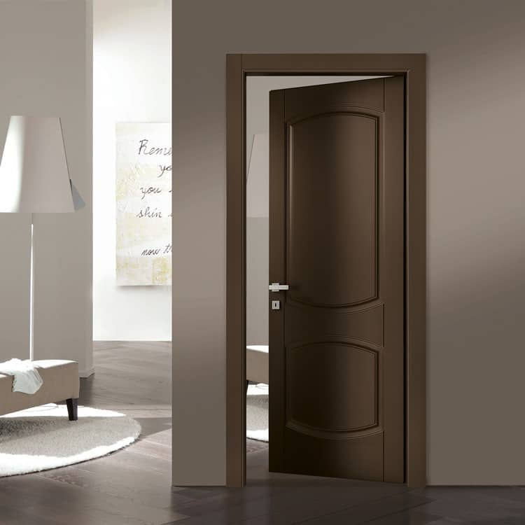 Porte interne design italiano gr serramenti di gallarate for Vetri decorati per porte interne classiche