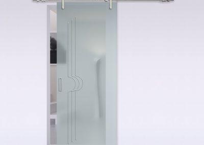 Porte interne design italiano gr serramenti di gallarate varese - Porte scorrevoli a libro ...