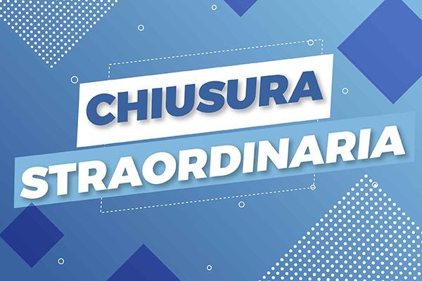 Chiusura straordinaria 2 Novembre