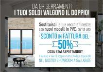 Detrazioni 50% nuove finestre PVC